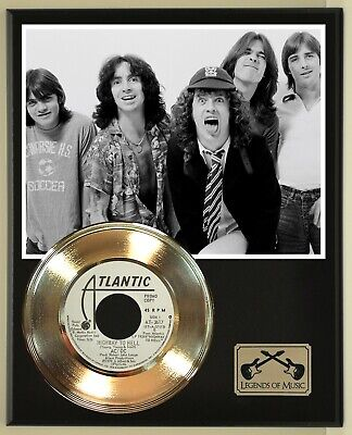 AC/DC  Highway To Hell  Record Display Wood Plaque • 46.30£