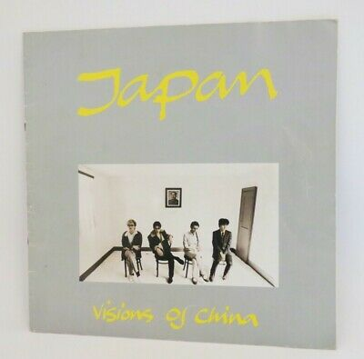 Japan / Visions Of China Tour Programme 1982 • 15.95£
