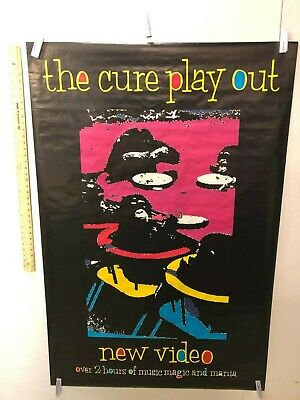 HUGE SUBWAY POSTER The Cure - Play Out Single Promo Poster Friday Im In Love,  • 139.48£