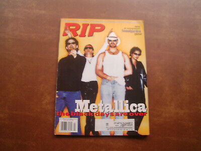 Metallica Rip Magazine July 1996 On The Cover Rare • 8.58£