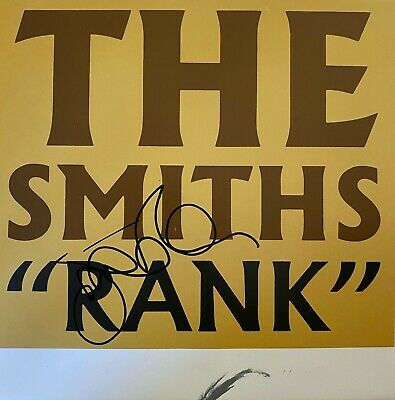 Johnny Marr Hand Signed Poster - The Smiths - Rank - Music Autograph. • 74.99£