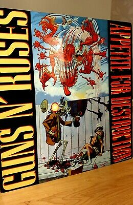 Guns 'n' Roses Appetite For Destruction 12x12 Inch Metal Sign • 14.99£