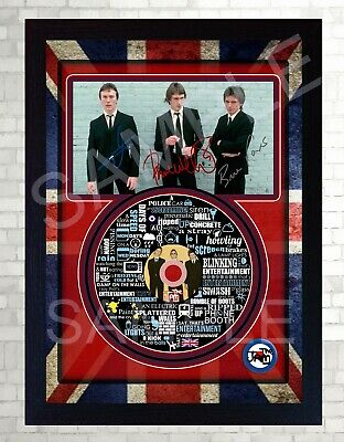 NEW THE JAM SIGNED Autographed FRAMED PHOTO CD Disc  • 19.99£