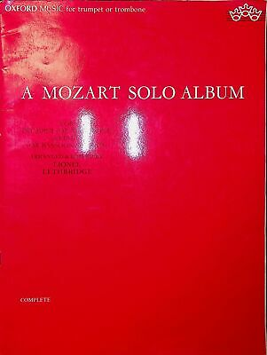 A Mozart Solo Album For Trumpet Or Trombone • 4.99£