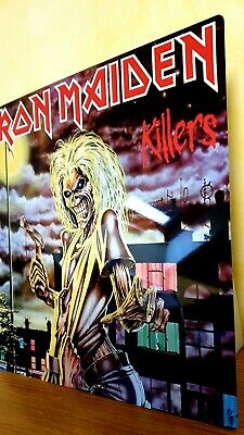 Iron Maiden-killers 12x12 Inch Metal Sign • 14.99£