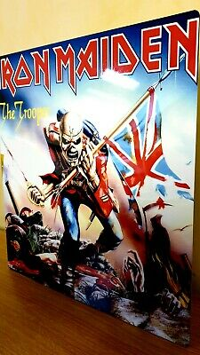 Iron Maiden-the Trooper- 12x12 Inch Metal Sign • 14.99£