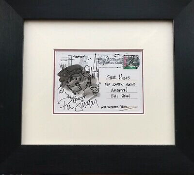 Paul Simonon - An Ink Drawing Of Paddington London Signed By Paul The Clash Punk • 499.99£