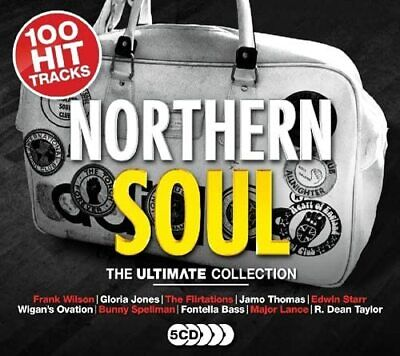 NORTHERN SOUL THE ULTIMATE COLLECTION 5 CD SET (100 Hit Tracks) (Released 2018) • 6.45£