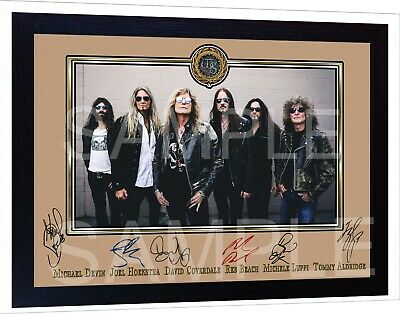 Whitesnake David Coverdale Music Framed Photo Pre-PRINT POSTER Perfect Gift  • 17.99£