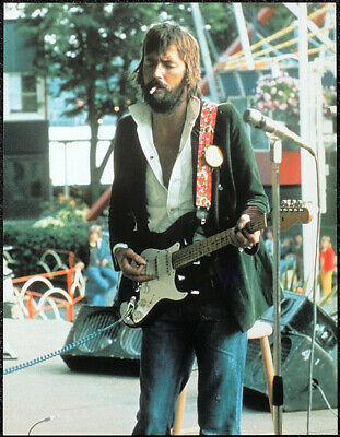 Eric Clapton Poster Page . L11 • 7.99£