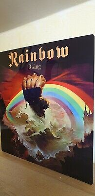 Rainbow - Rising 12x12 Inch Metal Sign • 14.99£