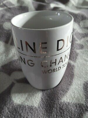 Celine Dion - Official Merchandise. Taking Chances World Tour 2008 Mug VGC • 25£