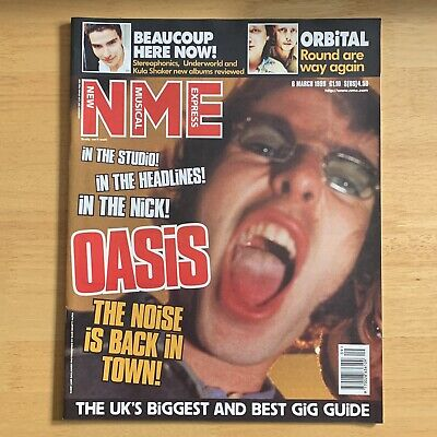 Oasis NME Magazine #19 - 6 March 1999 Liam Noel Gallagher • 10.99£