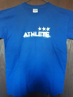 ATHLETE Tourist  T Shirt  Size Medium Vintige Rare  • 70£