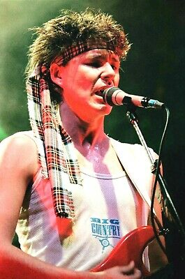 BIG COUNTRY In Concert, Debut Tour 'The Crossing' 1983! 80 Unrepeatable PHOTOS! • 18.95£