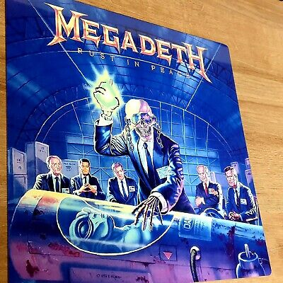 Megadeth - Rust In Peace - 12x12 Inch Metal Sign • 14.99£