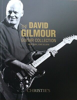 David Gilmour Guitar Collection Christie's Auction Catalogue 2019 - Pink Floyd  • 32£