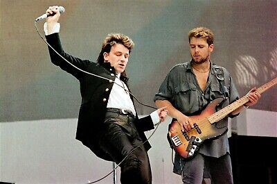 U2 In Concert At LIVE AID Wembley 1985! 40 Exclusive & Historic Onstage PHOTOS!  • 10.95£