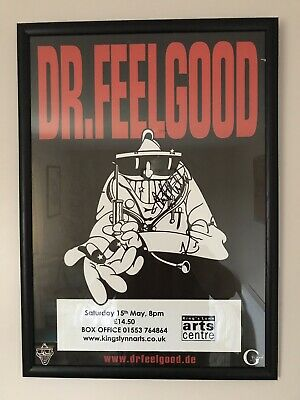 Dr Feelgood - Signed Poster • 35£