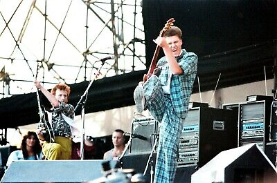 BIG COUNTRY In Concert Knebworth 1986! 120 Unique Onstage PHOTOS! The Seer Tour. • 24.95£