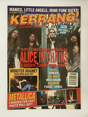 Kerrang #443 Alice In Chains • 12.99£