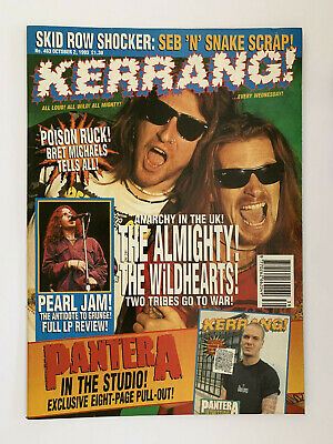 Kerrang #463 The Almighty The Wildhearts • 5£