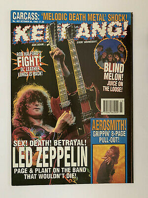 Kerrang #467 Led Zeppelin • 4.75£