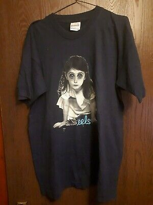 The EELS Beutefull Freak Tour  T Shirt  Size Large Vintige Rare  • 195£