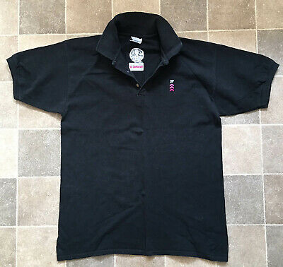 Peter Gabriel 2003 Growing Up Tour Black Polo-Shirt Official, Size L (XL) • 34.99£