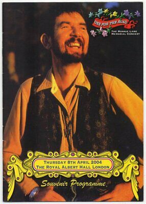 Ronnie Lane Small Faces 2004 Programme • 30£