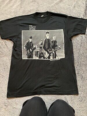 The Mighty Lemon Drops Original Vintage American Tour T Shirt C86 Indie • 47£