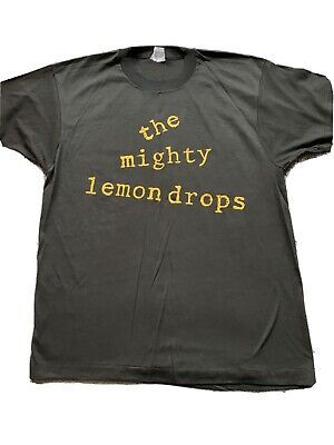 The Mighty Lemon Drops Vintage Happy Head T Shirt C86 Indie  • 46£
