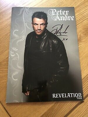 Peter Andre Signed Revelation Tour Programme 2010 • 7£