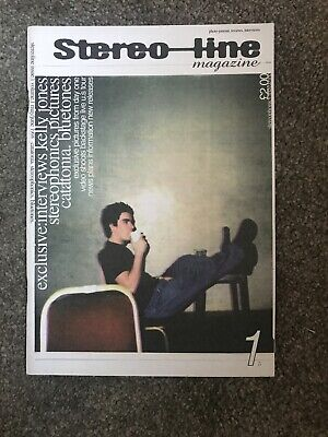 Stereo-Line Stereophonics Fanzine Issue 1 1998 - VGC - Collectors Item - Rare • 1.70£