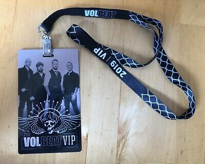 Volbeat 2019 VIP Laminate Rare • 10£
