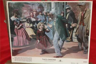 That's Dancing Lobby Card • 40£