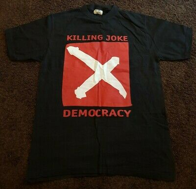 Killing Joke 'democracy' T-shirt - Size: Xl • 4.99£
