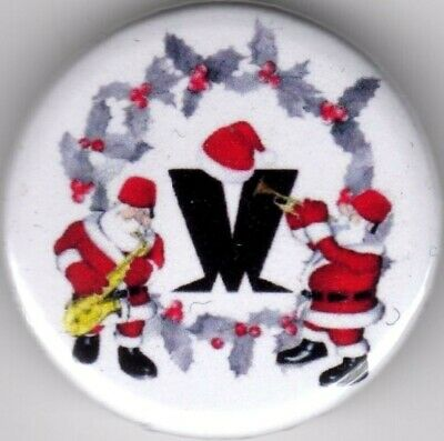 MADNESS PIN(Button) BADGE 25mm - CHRISTMAS - TWO TONE NUTTY BOYS SKA 2TONE SUGGS • 1.40£