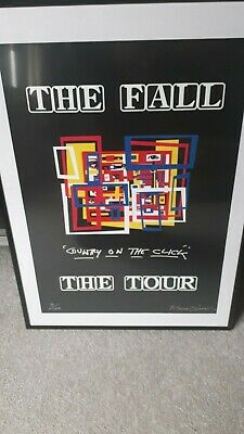 The Fall Ltd Edition Signed And Numbered By The Artist Promo Posters • 35£