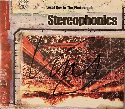 Kelly Jones HAND SIGNED Local Boy In Photograph CD Single STEREOPHONICS InPerson • 24.99£