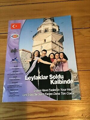 Press Pack Turkey Eurovision Song Contest 2002 • 3.99£