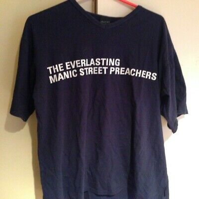 Manic Street Preachers Rare Official T-shirt The Everlasting XL • 17.25£