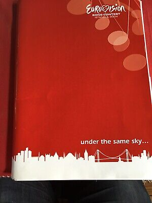 Turkish Television Press Pack Folder 2004 Eurovision Song Contest Istanbul  • 19.99£