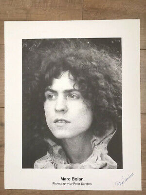 Marc Bolan - T-Rex -  Photograph By Peter Sanders • 10£
