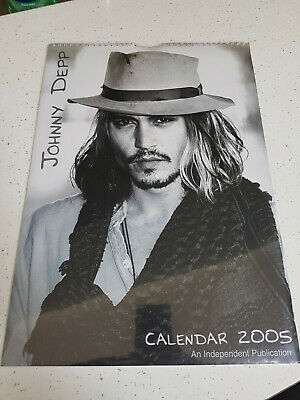 Johnny Depp  - UK  - 2005 Calendar  # 2 • 9.99£