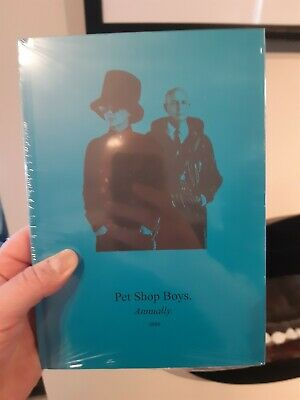 Pet Shop Boys Annually 2020 With CD New And Sealed Tennant, Lowe, Heath • 30£