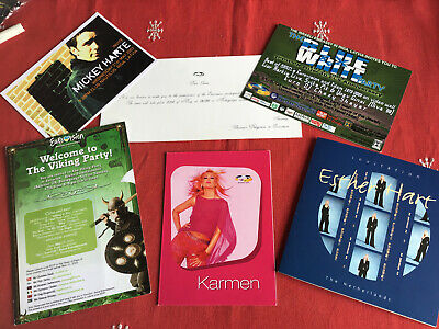 Party Invitations 2003 Eurovision Song Contest Various Countries • 5.99£
