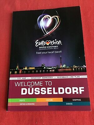 Welcome To Dusseldorf, Official City Guide Book Eurovision Song Contest 2011 • 6.75£