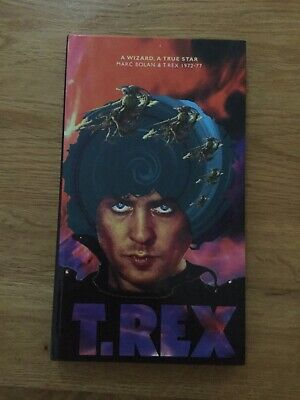 Marc Bolan & T Rex A Wizard, A True Star 1972 - 1977 Book & 3 CD Box Set • 17£