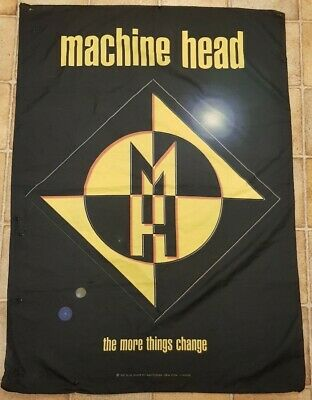 Machine Head 'the More Things Change' - Promotional Flag • 20£